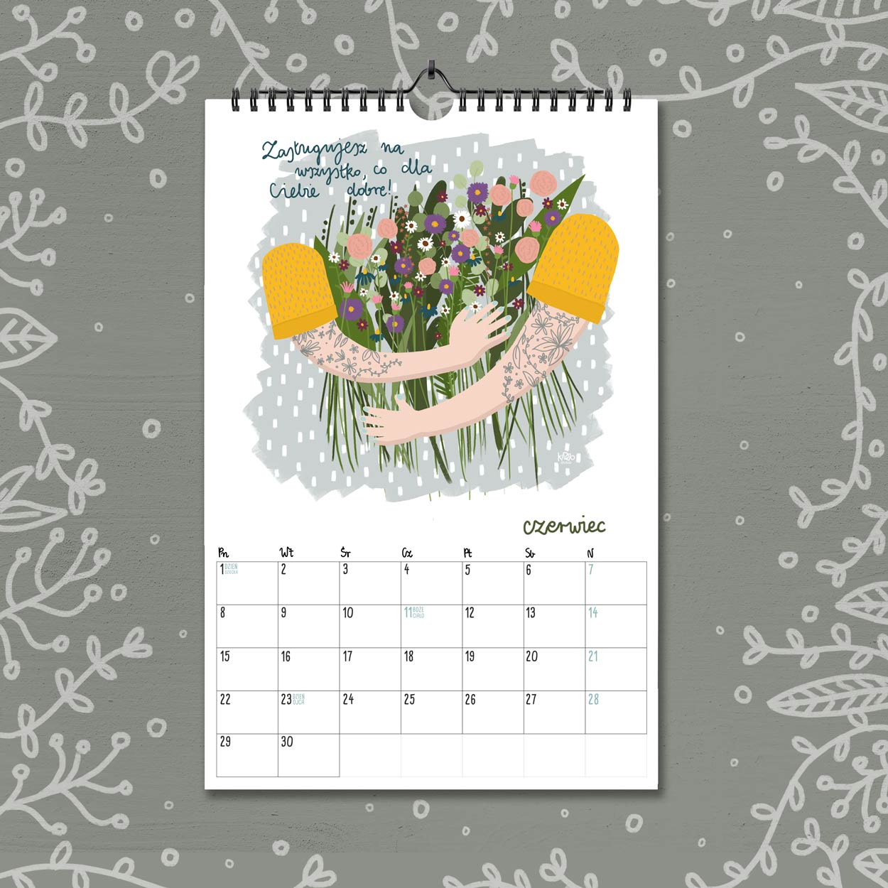 kalendarz 2020 czerwiec