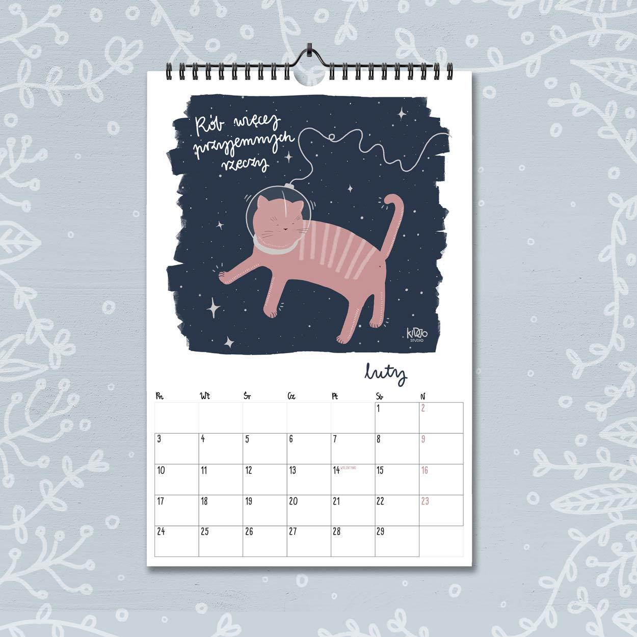 kalendarz 2020 luty