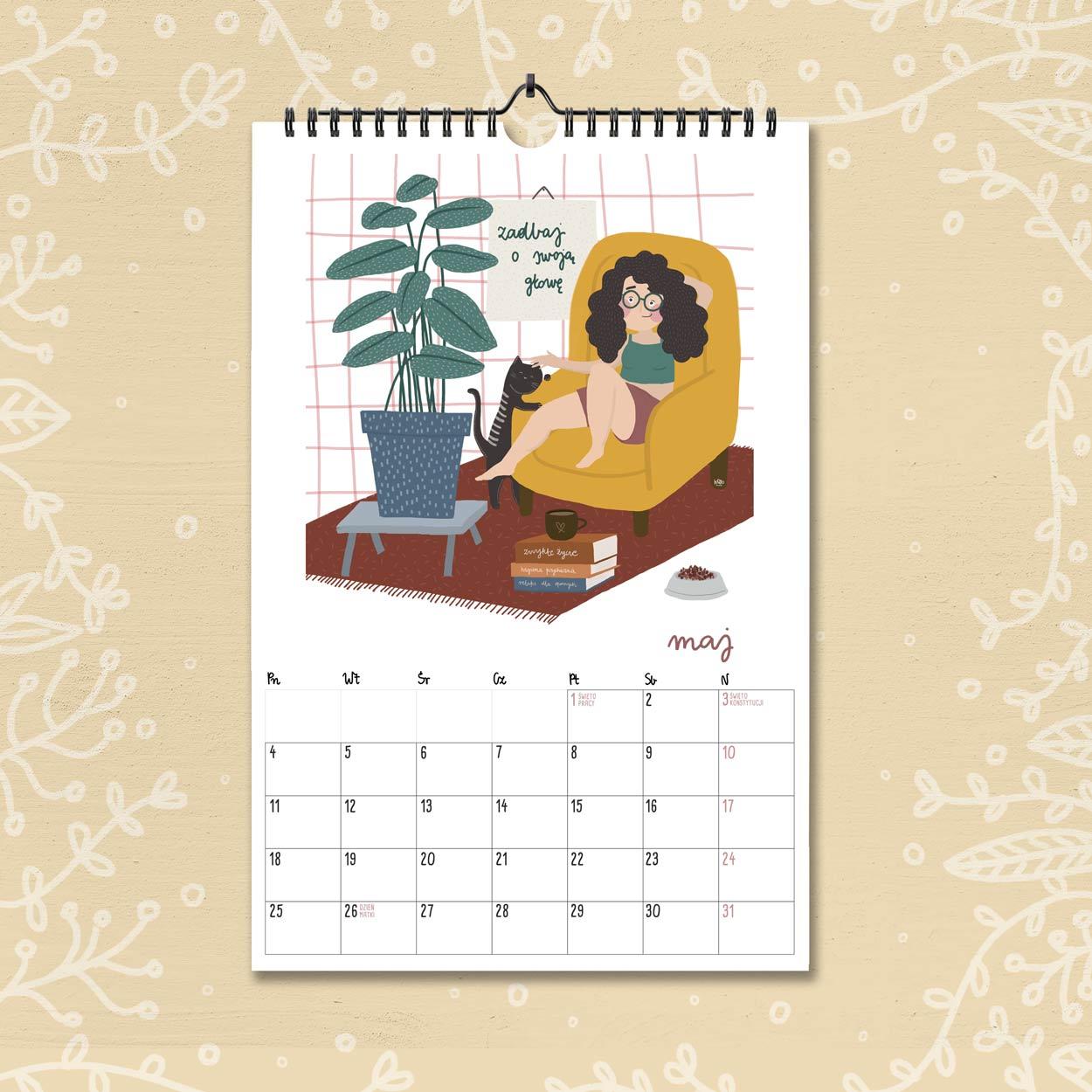 kalendarz 2020 maj